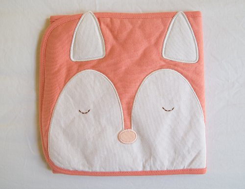BellyCozy - Bamboo Cotton Baby Blanket Wrap (Snoozy Fox)