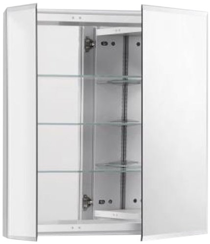 Robern CB-RC2426D4FB2  R3-Series 2-Door Bevel Mirror Medicine Cabinet