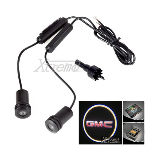 Xtreme® 5W 4Th Generation 2X Led Car Door Laser Projector Ghost Shadow Step Light Logo For Gmc