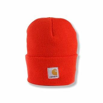 Carhartt Little Boys'  Acrylic Watch Hat,Brite Orange,Toddler