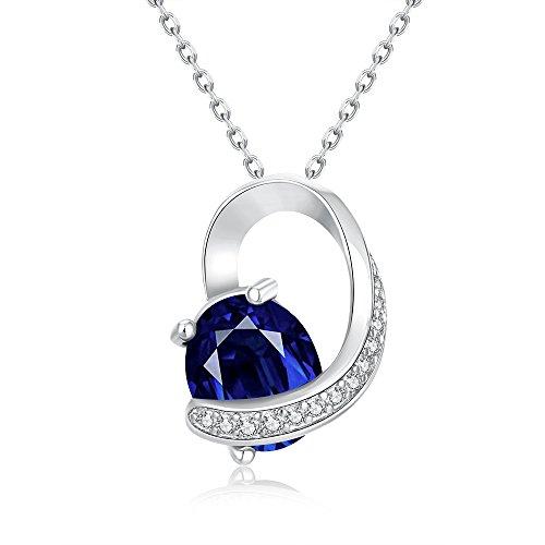 sdlm-womens-fancy-heart-charm-blue-crystal-white-gold-plated-unique-pendant-necklacew
