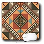 TNMGraphics Designs - Peach Quilt Diamonds - Mouse Pads