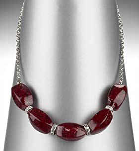 Chunky Bead Collar Necklace