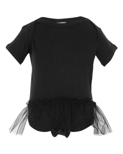 Rabbit Skins Infant Tutu Creeper - Black - 24M front-13156