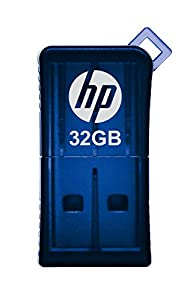 HP v165w 32GB USB 2.0 Flash Drive - Blue - P-FD32GHP165-GE