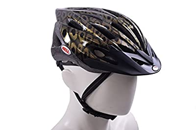 LADIES BIKE HELMET BELL VELA GOLD LEOPARD WOMENS CYCLE HELMET 50-57cm REAL BARGAIN IDEAL CHRISTMAS PRESENT by Bell