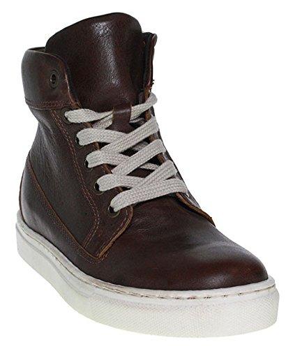 HIP, Scarpe da barca bambini marrone marrone, marrone (marrone), 34