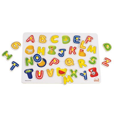 Cheap Hape HaPe Educo Wooden No I Learn My ABC's Pegged Puzzle (B003CTI16G)