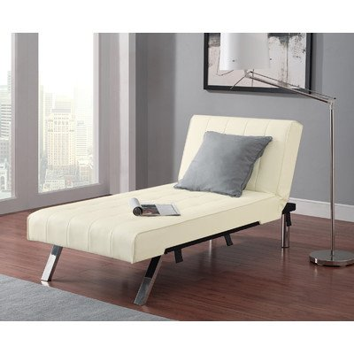 New Luxury Lifestyle Solutions Emily Chaise Lounge by Convert Lounge Futon Sofa Chair Furniture Living Room Bed Room Indoor