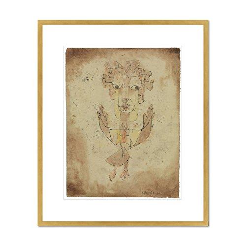 Angelus Novus by Paul Klee, 1920. Framed Art Print (Paul Klee Angelus Novus compare prices)