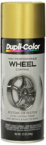 Dupli-Color HWP107 Wheel Coating - 12 fl. oz. (Gold Rims compare prices)