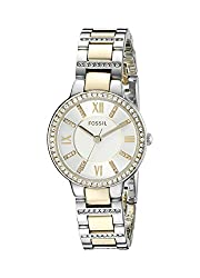 Fossil Analog Multi-Color Dial Womens Watch - ES3503