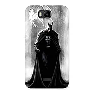 Gorgeous White Moon Knight Multicolor Back Case Cover for Honor Bee