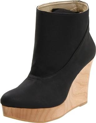 Cri de Coeur Women's Moon Ankle Boot,Ebony,7 M US