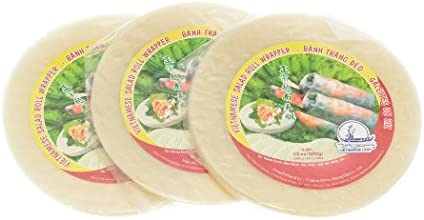 Vietnamese Lady Vietnamese Salad Roll Wrapper 12oz - Pack of 3 22cm