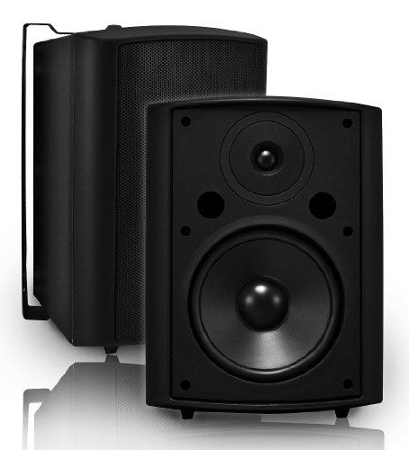 Osd Audio Ap840 Black 8-Inch High Performance Indoor Or Outdoor 200-Watt Patio Speaker Pair
