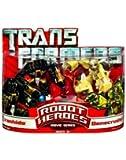 Ironhide & Bonecrusher - Transformers Robot Heroes Movie Series Mini Figure 2 Pack
