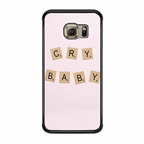 Cry Baby Alphabet Melanie Martinez Case / Color Black Plastic / Device Samsung Galaxy S6 Edge (Please Make Me Cry compare prices)