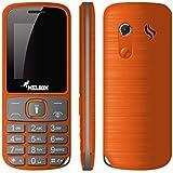 Melbon Dude 33-Orange Dual Sim GSM With Multimedia Camera Mobile Phone