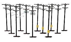 Life-Like HO Scene Master Utility Poles (12)