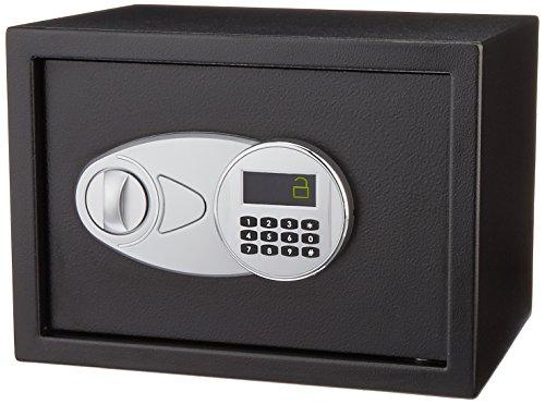 AmazonBasics - Cassaforte da 14.1 L, colore: nero