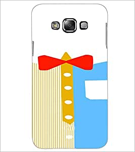 PrintDhaba Ribbon Design D-4839 Back Case Cover for SAMSUNG GALAXY A7 (Multi-Coloured)