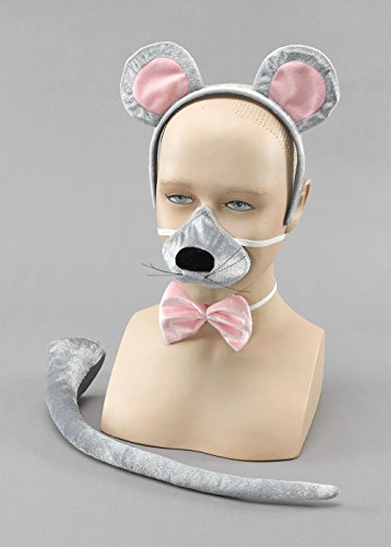Deluxe Mouse Set Fancy Dress Kit With Sound!! Animal