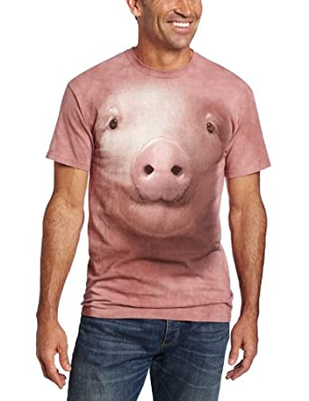 The Mountain Pig Face Adult T-shirt S