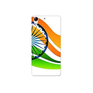 HTC 728 nkt09 (14) Mobile Case by Mott2 - Indian Flag Paint (Limited Time Offers,Please Check the Details Below)