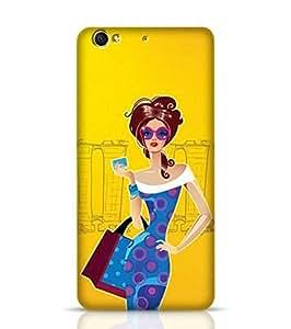 LeTV LeEco Le 1S Case Bumper Fashion Lady - LeTV LeEco Le 1S Multicolor