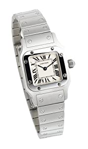 Cartier Women's W20056D6 Santos Stainless Steel Watch from Cartier