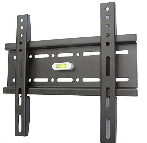 Schwere-Pflicht-Halterung-TV-Wandhalterung-fr-20-42-Fernseher-Heavy-Duty-Premium-Mount-aus-12-mm-dickem-gerollt-Stahl-gefertigt
