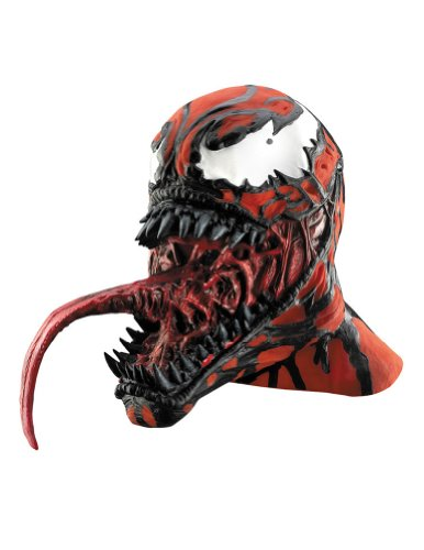 Scary-Masks Carnage Vinyl Deluxe Adult Costume Mask Halloween Costume