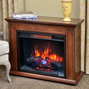 Duraflame Carlisle 1 000 Sq Ft Infrared Fireplace