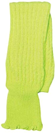 Forum Novelties Neon Leg Warmers, Green, One Size