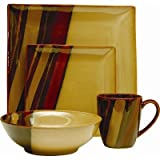 Sango Avanti 16-Piece Dinnerware Set, Brown