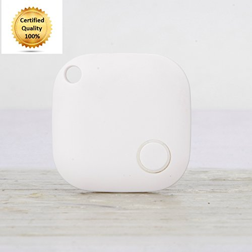 Best Key Finder, Cell Phone Locator, Dog Tracker & Car Finder. Keep Track Of Your Kids, Includes Anti-Lost Alarm Feature, Find Your Belongings w/ Great Vibez Smart Finder Bluetooth Tracking Device! (Bluetooth Keychain Locator compare prices)
