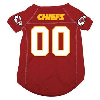 Kansas City Chiefs NFL pet dog sports Jersey red XS 4-10 lbs