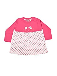 PEPITO'S top PRINTED AND PATCH WORK PINK, 0-6 M