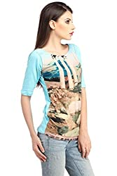 Fancy Designer Blue Tops for women /Girls