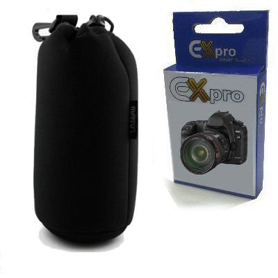 Ex-Pro® Soft Neoprene Lens Pouch Case Bag 115mm X 300mm (Large)