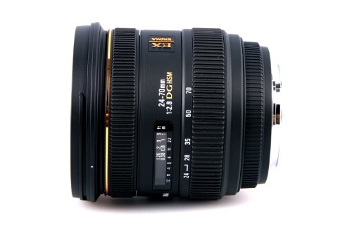 Sigma 24-70mm f/2.8 IF EX DG HSM Lens (Canon EF Mount)
