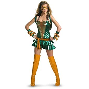 Disguise Women's TMNT - Sexy Michelangelo Deluxe Adult Costume