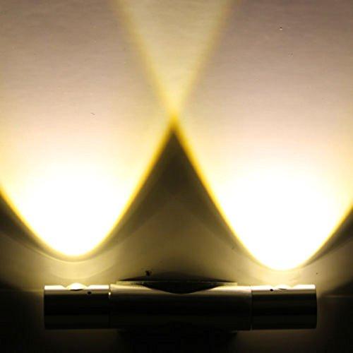 Trois Couleur® 2pcs 2W LED Lampe Applique murale intérieur avec Lumière Blanche doux angle lampe réglable pour maison chambre appartement villa