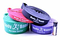 Body-Bands Pro Elite Resistance Band Training Set #4 (Set of 4 Bands)