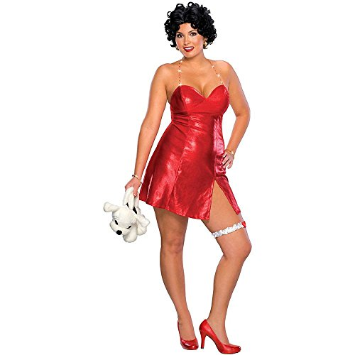 Betty Boop Plus Size Costume - Plus Size