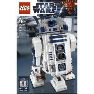 Toy / Game LEGO Star Wars 10225 R2D2 - 2 Fold-Out Front Spacecraft Linkage Control Arms & Retractable Third Leg
