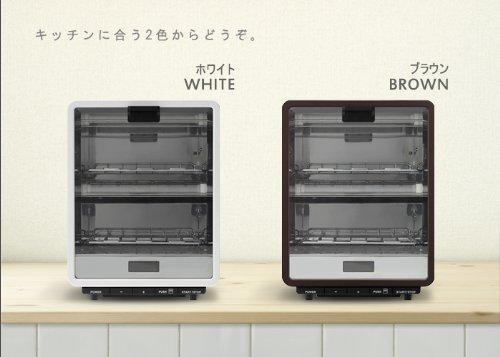 ±0 Toaster Oven プラスマイナスゼロ オーブントースター [ ホワイト/XKT-T120(W) ]