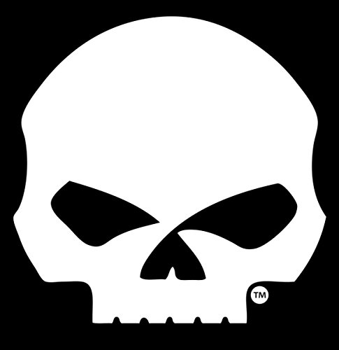 Willie g skull harley davidson rear window sticker decal motorcycle ride bar and shield (G Window Decal compare prices)