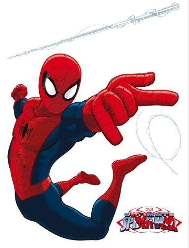 Spiderman decorazione murale adesiva 65x85cm arredamento for Decorazioni autoadesive